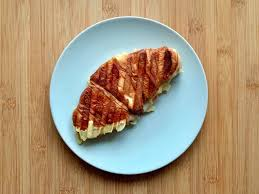 croissants gegrillt